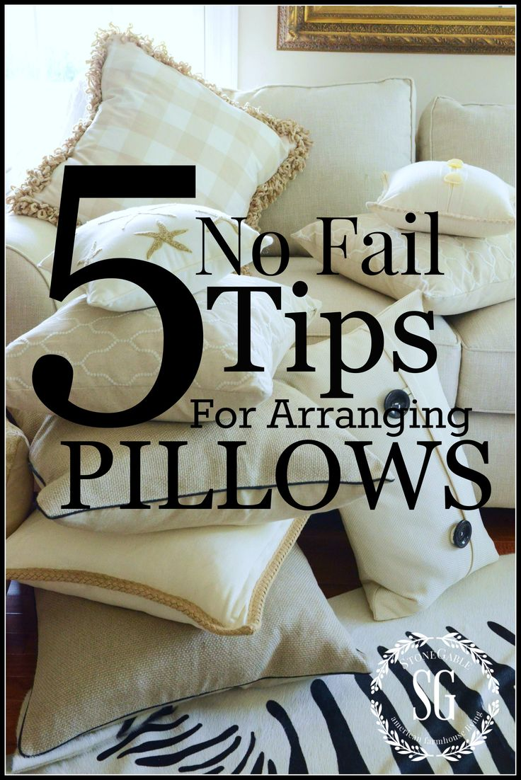 Decorative Pillows For Sofa Part - 42: Best 25+ Couch Pillow Arrangement Ideas On Pinterest | Interior Design  Living Room, Accent Pillows And Couch Sale