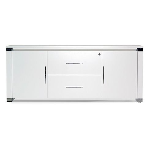 The Lucid Credenza At Www.moderndigsfurniture.com, In White Or Black  Lacquer And. Lateral FileModern OfficesOffice ...