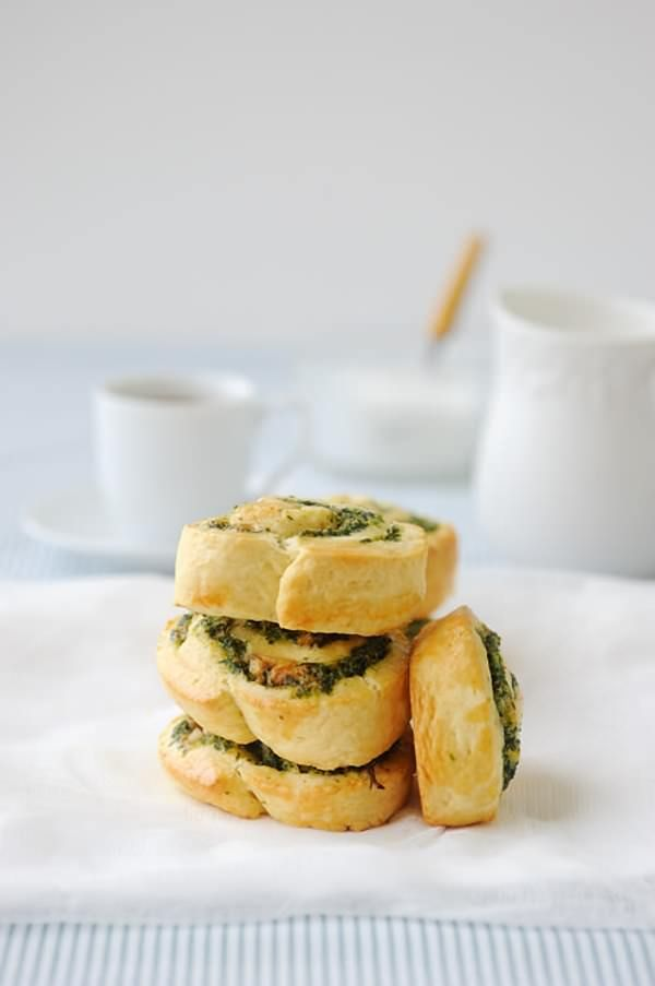 Spinach and Feta Scrolls