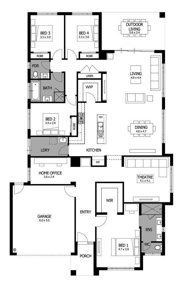Contemporary home design modern floor plans bohemia mojo homes