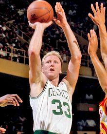 Larry Bird's Basketball Shot