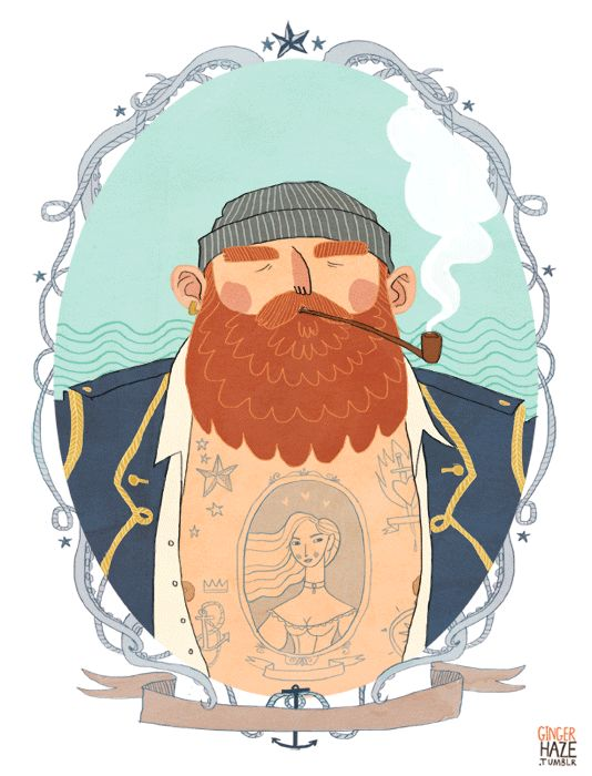 Noelle Stevenson. #illustration #nautical