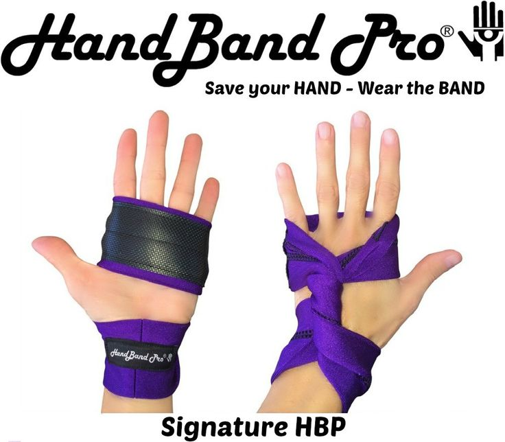 HandBand Pro® Elite Petite| Small Hands Big Comfort Best grip for Crossfit high-rep WODs!