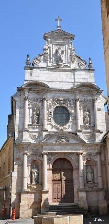 Église Ste Anne Dijon Francia.