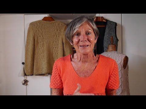 Pontos de # tecer duas agulhas ➜ Aprenda com Lucila ➜ Técnicas e segredos para ...