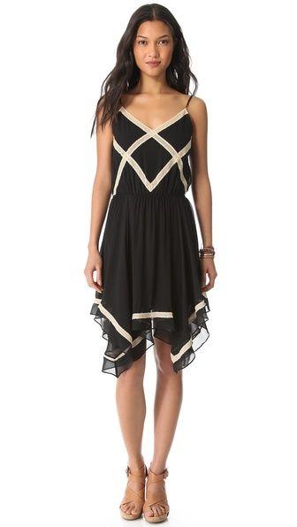 Love Sam Crisscross Lace Dress at @Shopbop