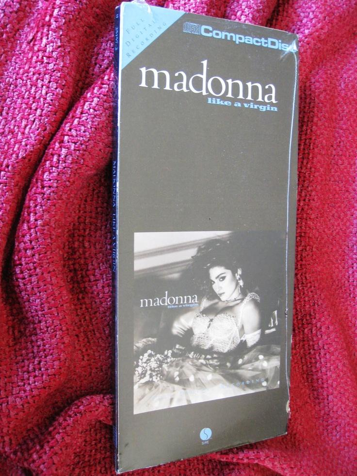 Madonna Like A Virgin LongBox   Rare Madonna Collectibles ...