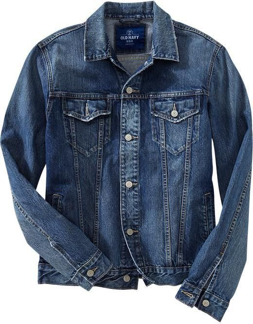 $39, Old Navy Denim Jackets. Sold by Old Navy. Click for more info: https://lookastic.com/men/shop_items/14780/redirect