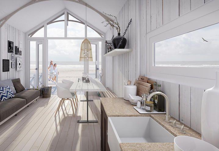 Oltre 25 fantastiche idee su case sulla spiaggia su for Interior design di bungalow artigiano