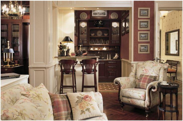 Интерьер в английском стиле #дизайн #интерьер #английский #стиль #дизайн_интерьера #дом