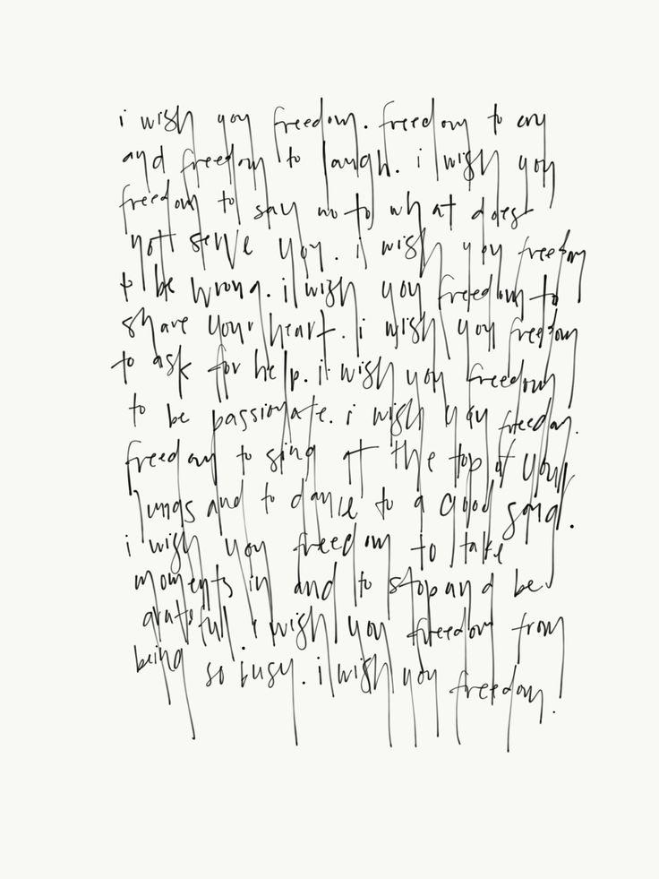 Freedom Journaling