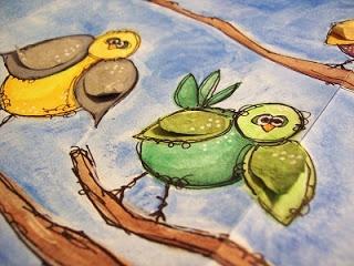 The Art of Wild Abandonment...my little birdies!