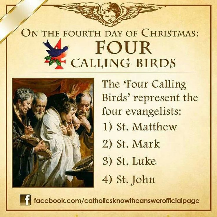4th day of Christmas meaning #christmasfacts