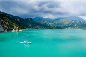 Green Lake, Taurusgebergte Turkije