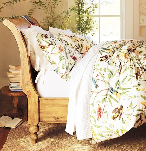 Beautiful Bird Motif Bedding Pottery Barn 1 For The Home