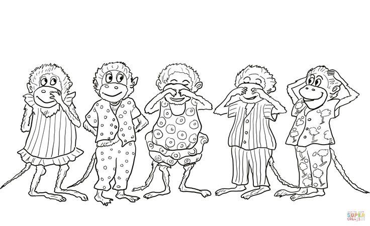 11 best Five little monkeys book projects images on