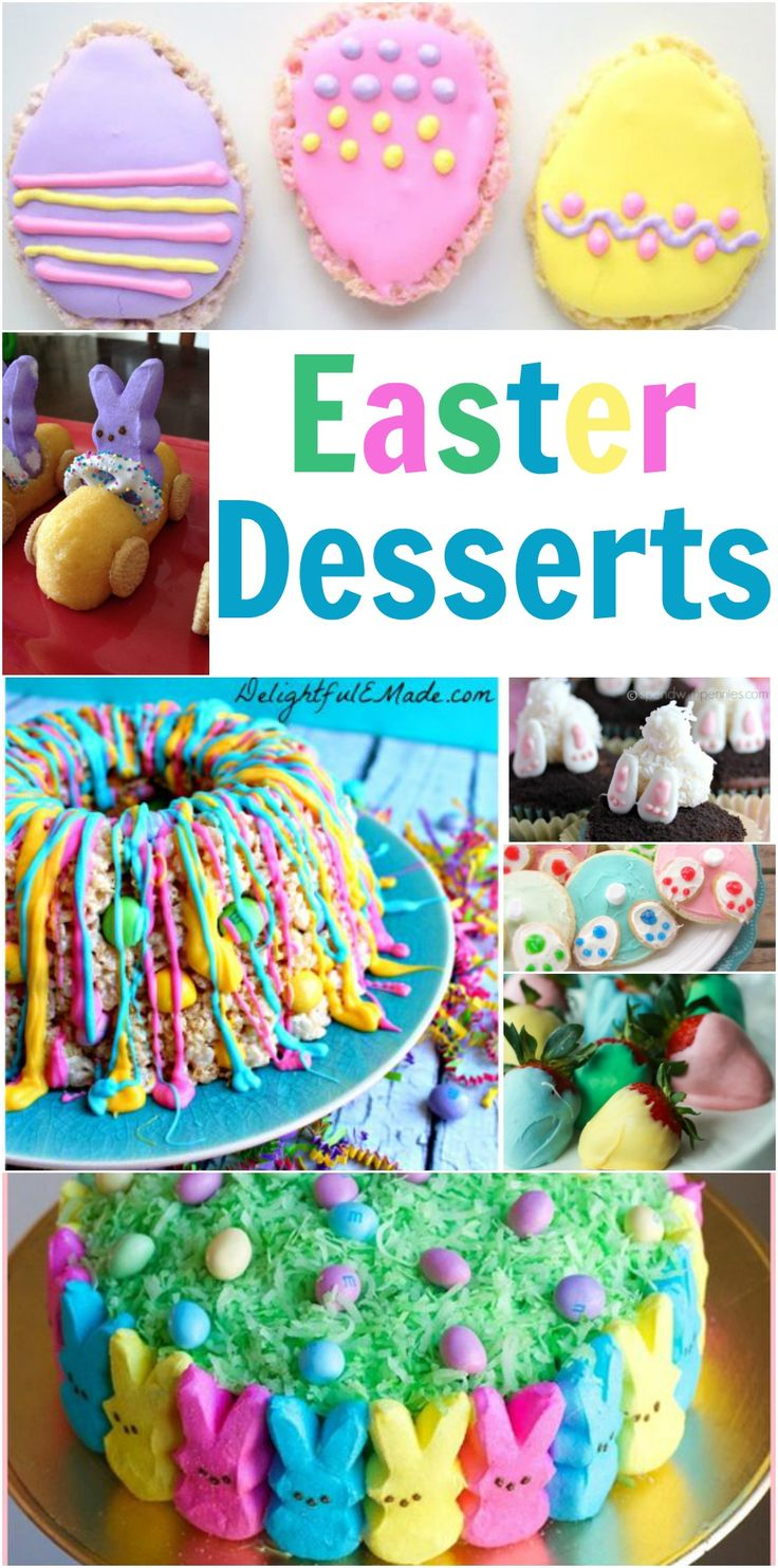 Easter Desserts - Dinner with the Rollos