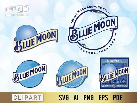 Blue Moon Beer Beer Never Broke My Heart Blue Moon Beer Svg By Digitalhandr Blue Moon Beer My Heart Is Breaking Blue Moon