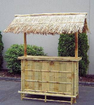 Do Yourself Tiki Hut Kits | Bamboo Tiki Hut Bar Bamboo 5u0027 Tiki Bar With