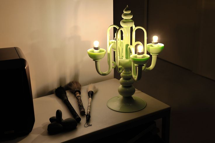 Sublime. Hand made murano glass candelabra
