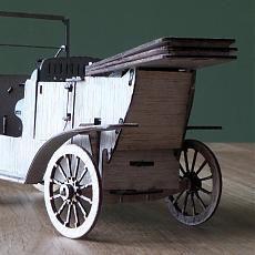 Ford Model T 1908 back