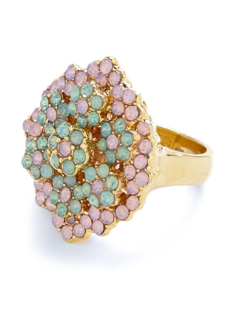 Every-daisy Elegance Ring: Cocktails Rings, Elegant Rings, Daisies Rings, Vintage Rings, Every Daisies Elegant, Jewelry, Mod Retro, Modcloth Com, Retro Vintage