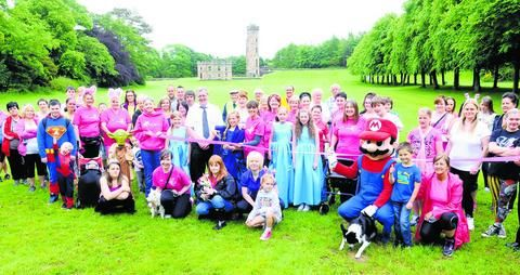 THE people of Ayrshire turned out in force recently for a special Walk for Fun day at Eglinton Park.