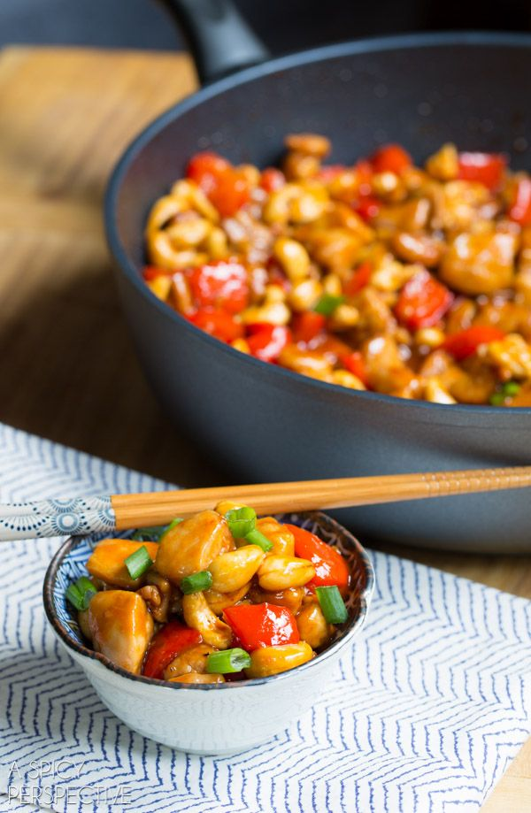 Best Paleo Cashew Chicken Recipe #paleo