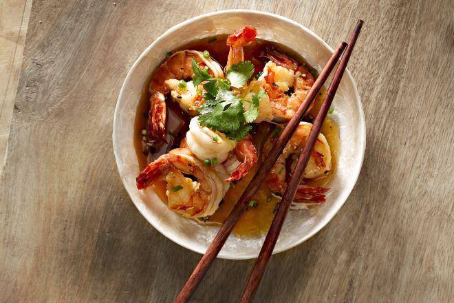 Scampi's uit de Vietnamese keuken