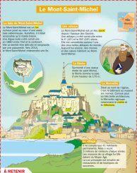 Le Mont Saint-Michel -  Mon Quotidien, le seul site d'information quotidienne pour les 10 - 14 ans !