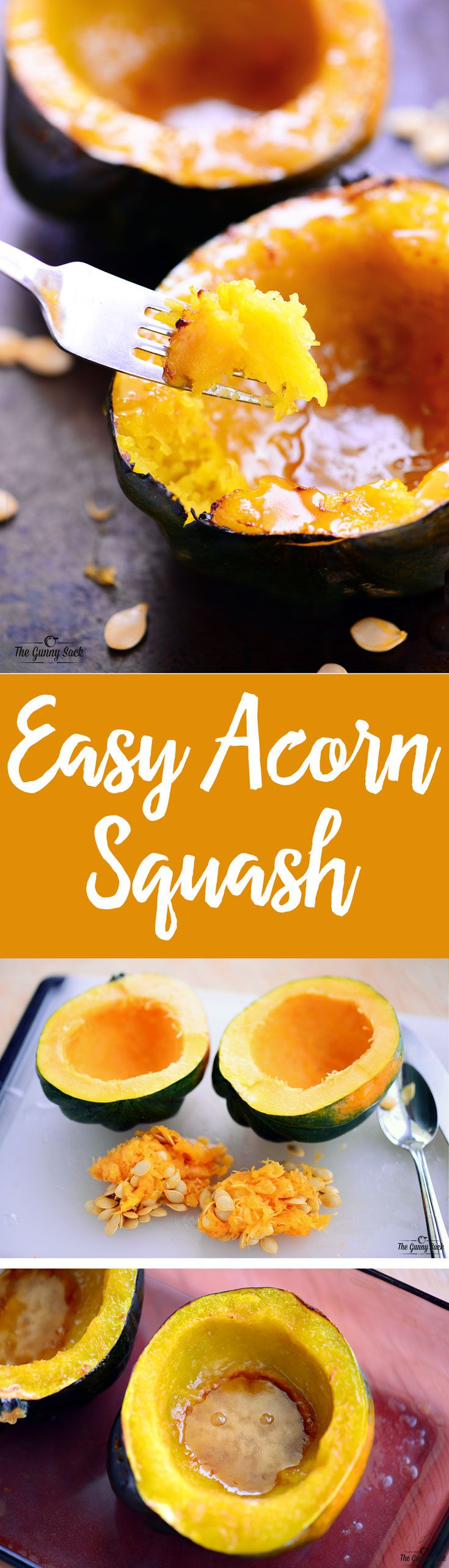 This Easy Acorn Squash Recipe is a healthy side dish that tastes like dessert to me! It's a great way to get more veggies in your diet.