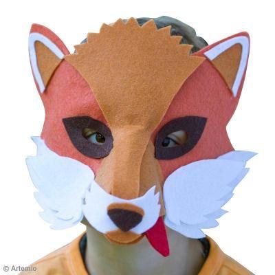 DIY Máscara de zorro fácil de hacer