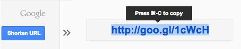 Classroom Tech: Google URL Shortener and QR Codes