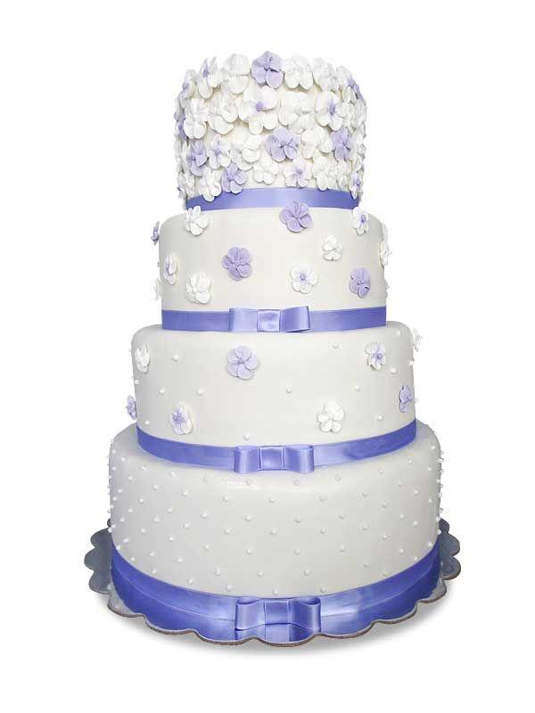 PuurTaart :: Taartengalerij - Bruidstaart - Wedding cake Blossom
