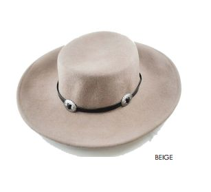 The Dakota Hat Beige