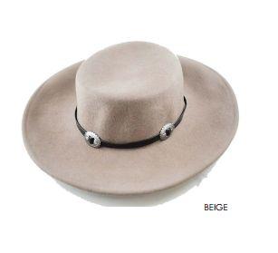 The Dakota Hat Beige