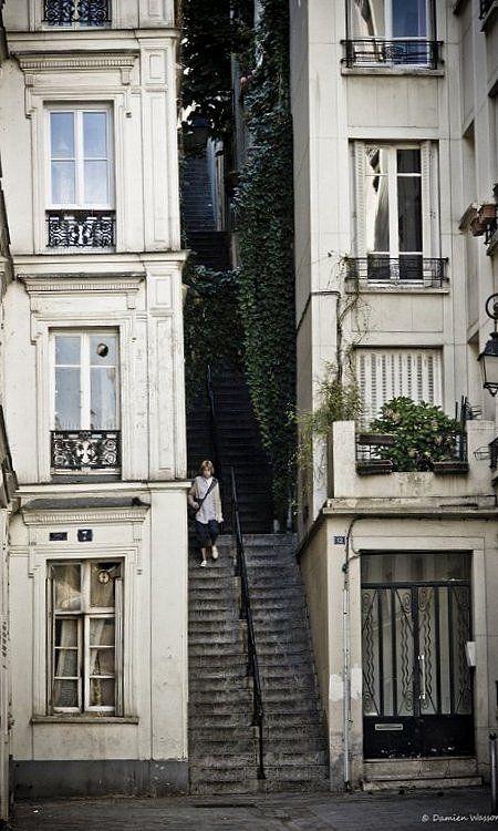 Passage Cottin_Montmartre, Paris  (by ...Damien...Wasson... on Flickr)
