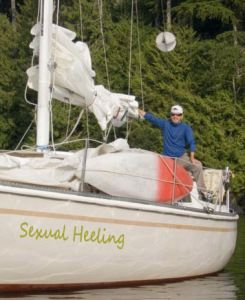 Really funny boat names for each type of boater! #boating #humor #funnyboatnames #cleverboatnames #boats