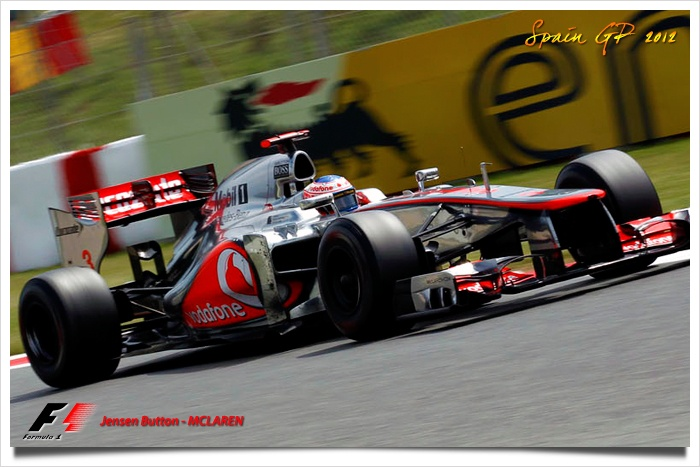 Jensen Button, Spain GP 2012