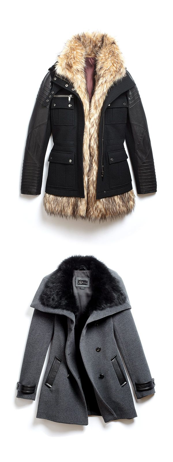Dual jackets get you from fall to winter with ease. (Ashley B/Mackage)