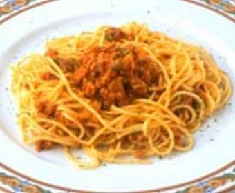 Receta Spaguetti a la bolognesa en microondas, nuestra receta Spaguetti a la bolognesa en microondas - Recetas enfemenino