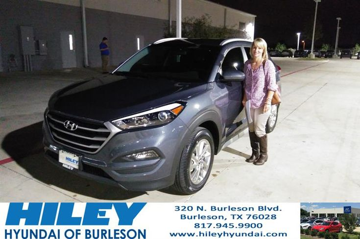 Congratulations Lucinda on your #Hyundai #Tucson from Jose Manuel Venegas at Hiley Hyundai of Burleson!  https://deliverymaxx.com/DealerReviews.aspx?DealerCode=KNWA  #HileyHyundaiofBurleson