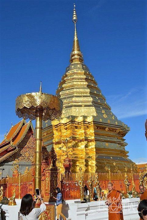 Cómo ir de Bangkok a Chiang Mai, Doi Suthep y Mercados Nocturnos