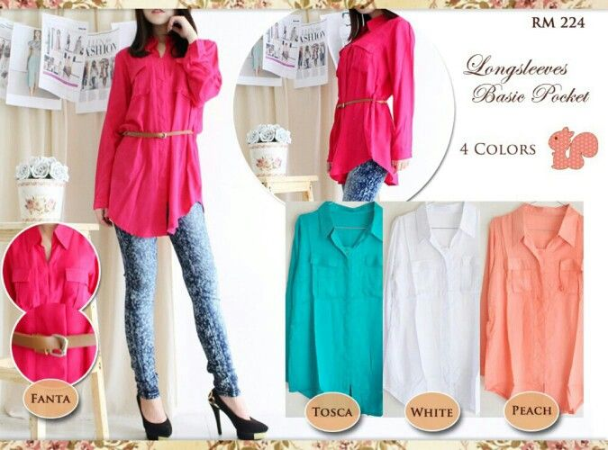 Hem pocket, hrg 61rb, bhn katun rayon, free belt, fit L