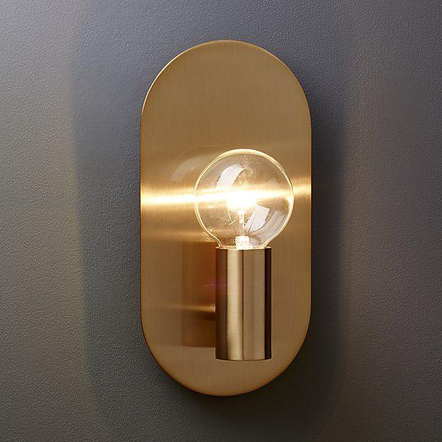 Best Brass Wall Sconces : Best 25+ Brass wall lights ideas on Pinterest Scandinavian wall sconces, Sconces and Brass ...