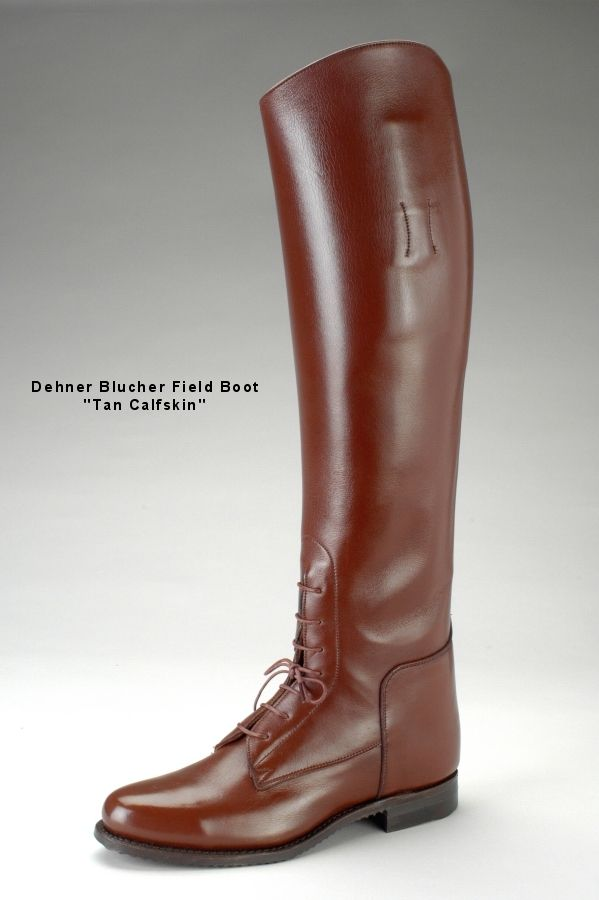 Dehner Field Boot. I had a pair custom made for riding 35 years ago. They were $300, now they cost over $1000! Still have them. Love'em.