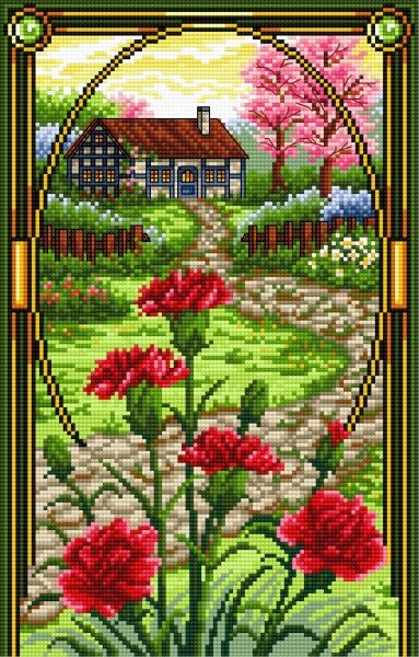 Goździk (Maj) (miesiące, kwiaty, widok, goździki)
