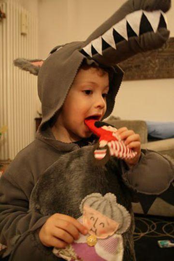 costume per bambini da lupo