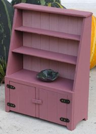 Detailed instructions for rustic hutch from cardboard | Source: L Petit Monde de la Fee Erie