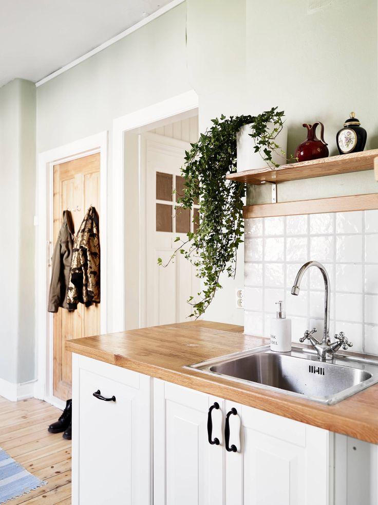 wooden counters via Stadshem